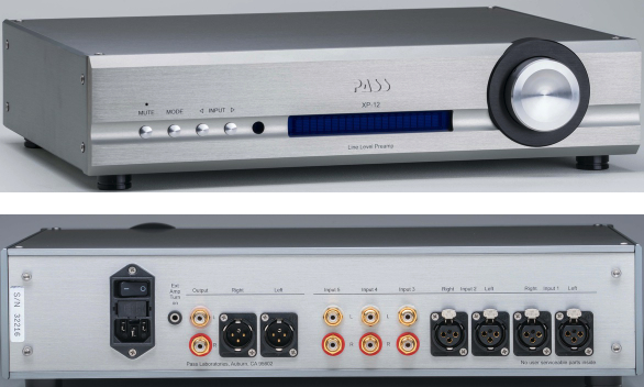 Pass Labs Amp and Preamp